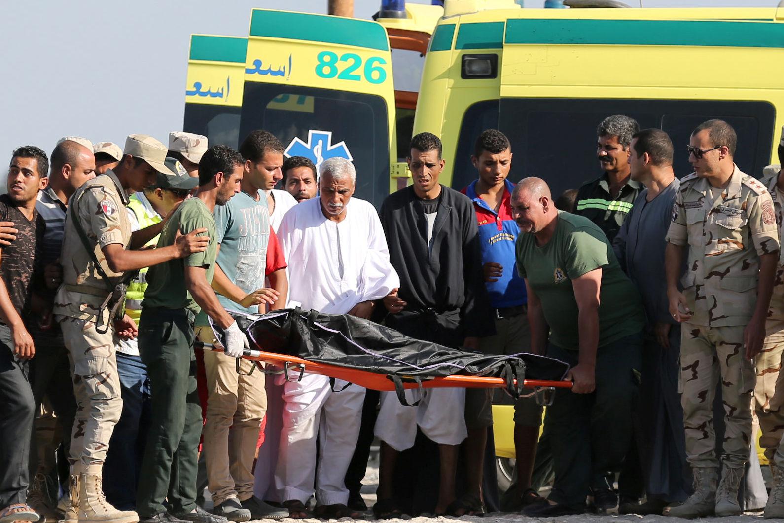 Le bilan du naufrage de migrants au large de l'Egypte s'alourdit