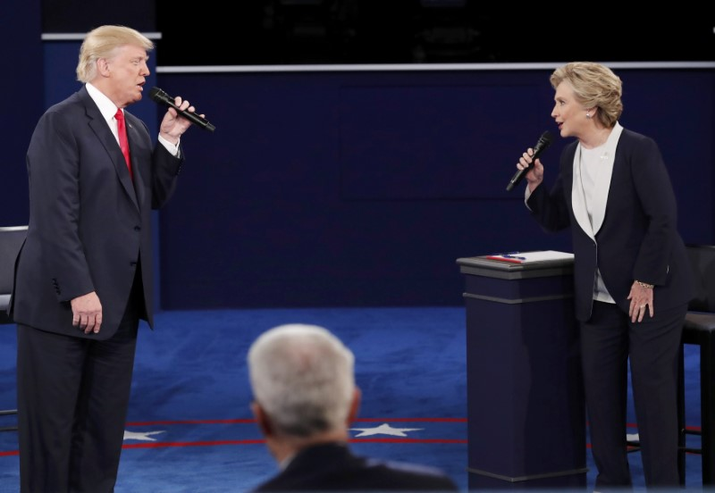 Deuxième débat Clinton-Trump, et la guerre devint totale