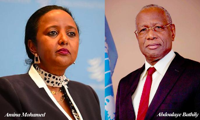 UA - Bathily quitte l'ONU pour une difficile campagne africaine