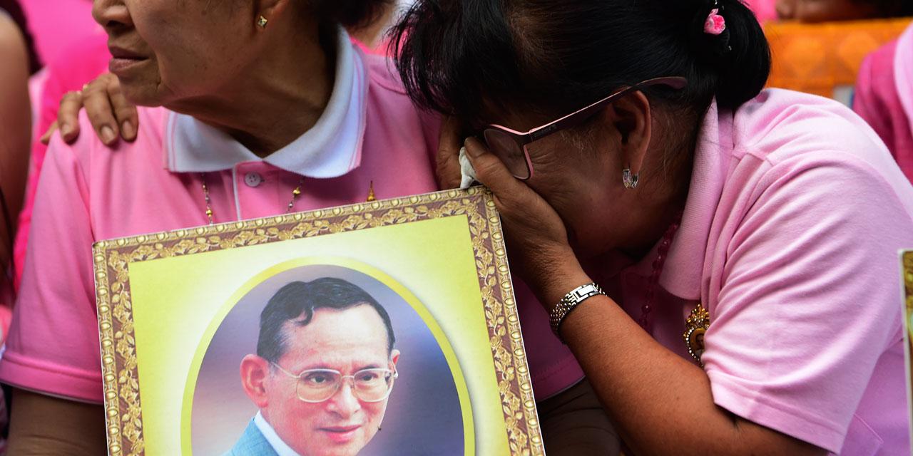 Le roi de Thaïlande est décédé après un règne de 70 ans