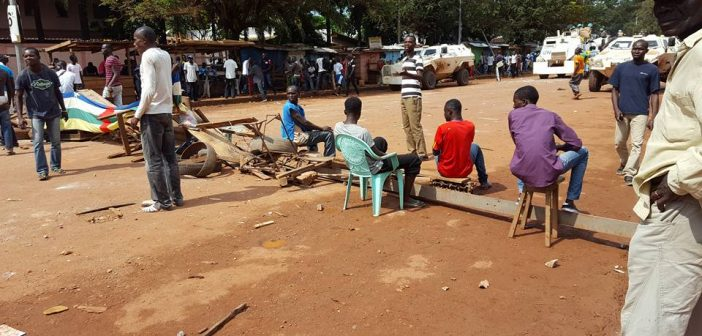 Bangui – Opération ville morte pour le retrait de la Minusca