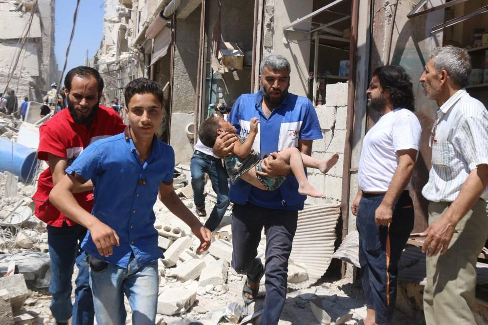 Quinze civils, dont 6 enfants, tués par des tirs rebelles à Alep