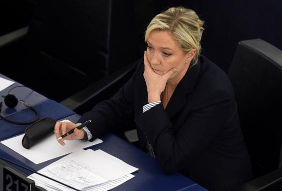Le Parlement européen réclame 339.000 euros à Marine Le Pen