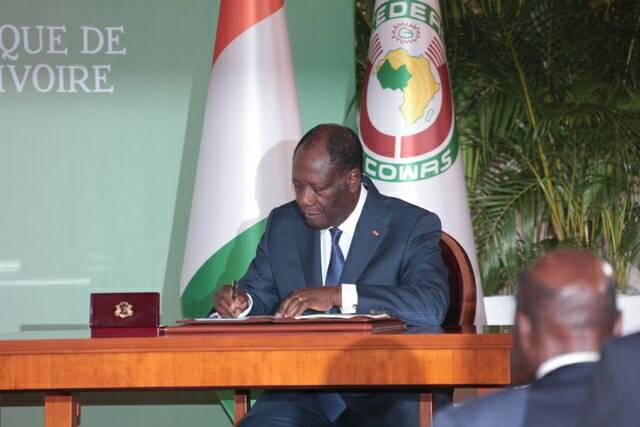 Promulgation en Côte d'Ivoire de la nouvelle Constitution