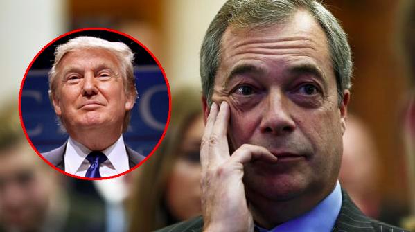 May dit « NO » à Trump pour la nomination de Farage comme ambassadeur à Washington