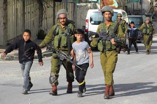 350 mineurs palestiniens dans les prisons israéliennes