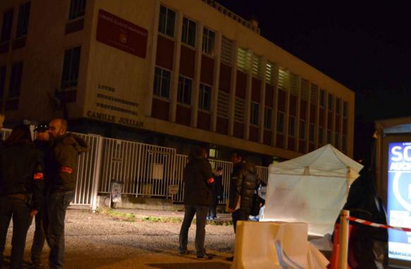 Un mineur tué devant un lycée de Marseille