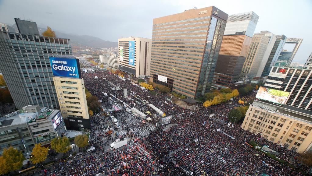 Le Parlement sud-coréen vote la destitution de la présidente Park
