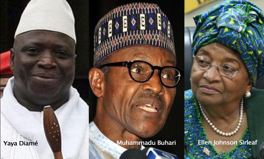 GAMBIE: Sirleaf, Buhari, Bai Koroma et Mahama à Banjul mardi pour convaincre Jammeh