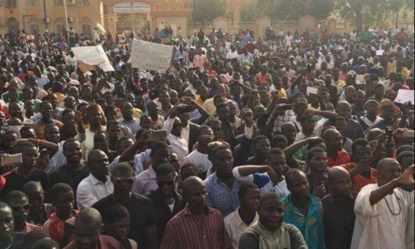 Niger: manifestation contre la vie chère à Niamey