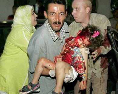 Un enfant palestinien victime de Tsahal