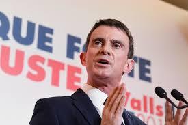 """Valls présente son programme contre la """"purge"""" de Fillon"""