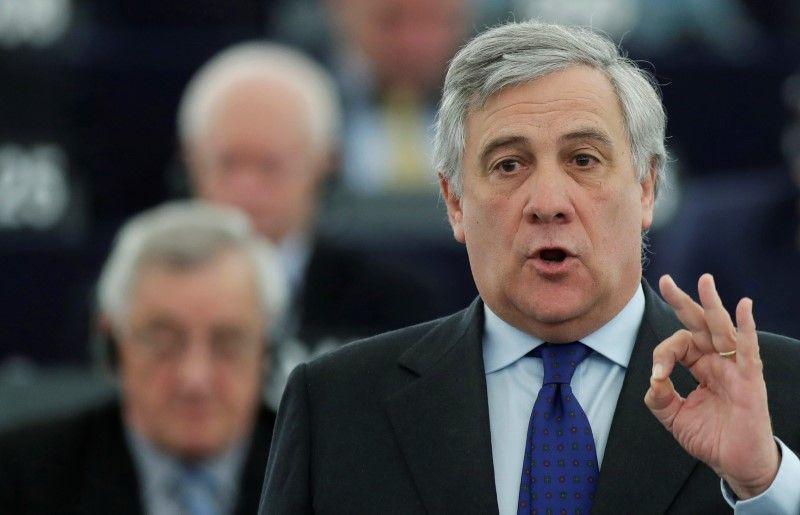 L'Italien Antonio Tajani (PPE), élu président du Parlement européen