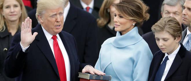 Trump prend ses fonctions de 45e président des Etats-Unis avec le mot d'ordre « America first »