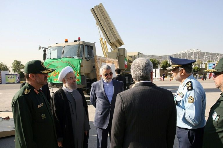 Exercices militaires de l'Iran impliquant des missiles