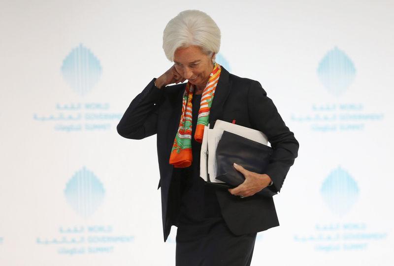 Les élections en Europe inquiètent Christine Lagarde