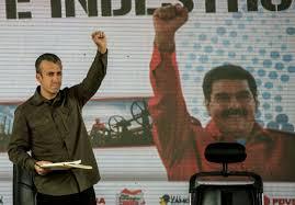 """Venezuela : le vice-président, sanctionné par les USA, dénonce une """"agression"""""""