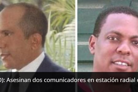 République dominicaine: deux journalistes tués en pleine émission