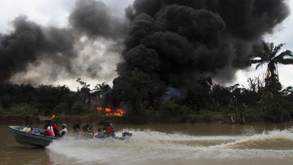 Oléoducs attaqués au Nigeria: 50 à 100 mds USD de pertes estimées en 2016