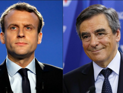 Fillon et Macron à égalité derrière Le Pen - Sondages