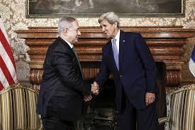 Paix au Proche-Orient: réunion secrète en 2016 entre Kerry, Netanyahu, Abdallah II, Sissi