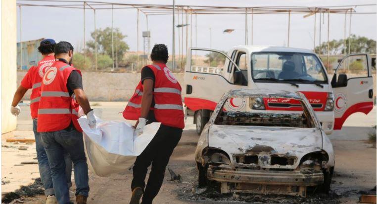 Treize migrants retrouvés morts dans un conteneur en Libye