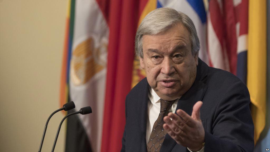 ONU: Guterres au Kenya, dans une région touchée par la famine