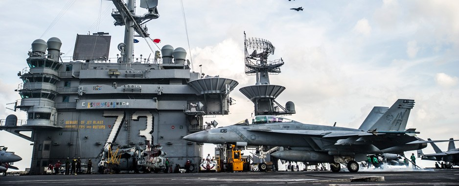 Exercices navals américano-japonais en mer de Chine