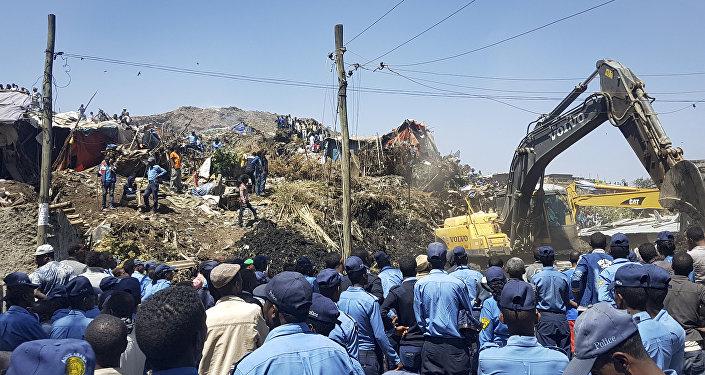 Le bilan atteint 113 morts dans la décharge d'Addis-Abeba