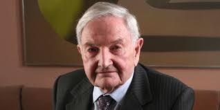 Décès du milliardaire philanthrope américain David Rockefeller