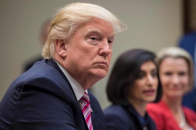 Trump, la crédibilité de la parole présidentielle en question