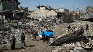 Mossoul: des dizaines de civils tués par des frappes aériennes de la coalition internationale