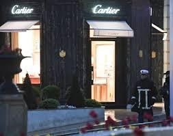 Spectaculaire braquage de la bijouterie Cartier en plein centre de Monaco