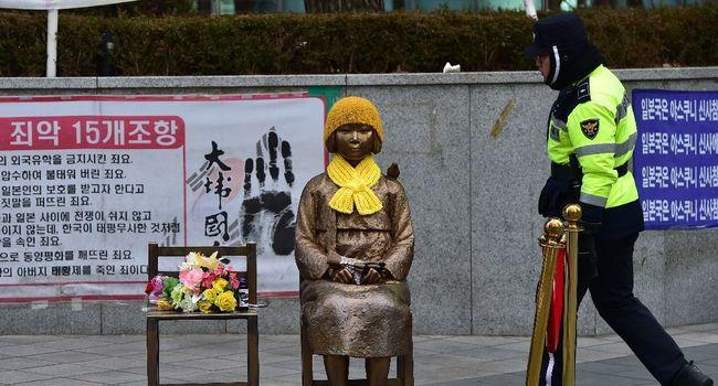 """""""Femmes de réconfort"""" : retour de l'ambassadeur du Japon à Séoul"""
