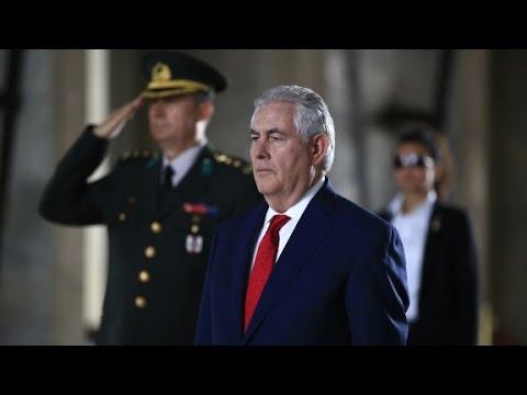 Tillerson à Moscou avec plus d'atouts après les frappes en Syrie