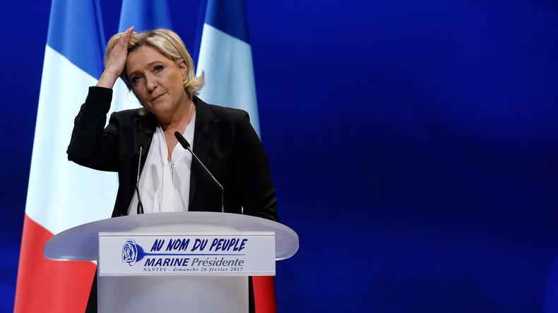 Demande de levée de l'immunité de Le Pen dans l'affaire des assistants