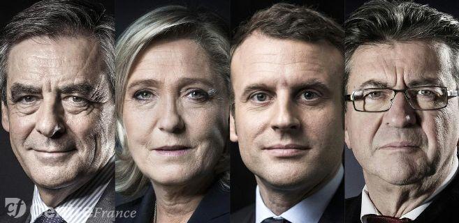 Quatre candidats dans un mouchoir de poche