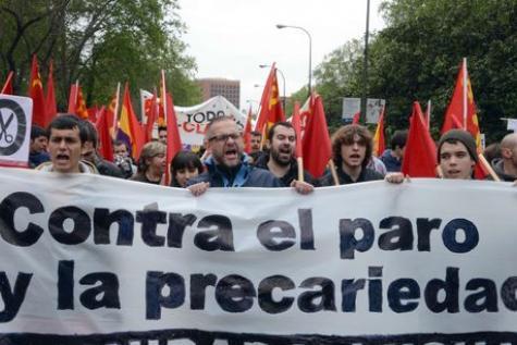 Des milliers de personnes manifestent à Madrid contre la corruption