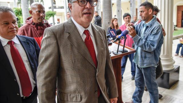 Un des chefs de l'opposition vénézuélienne reçu à la Maison blanche