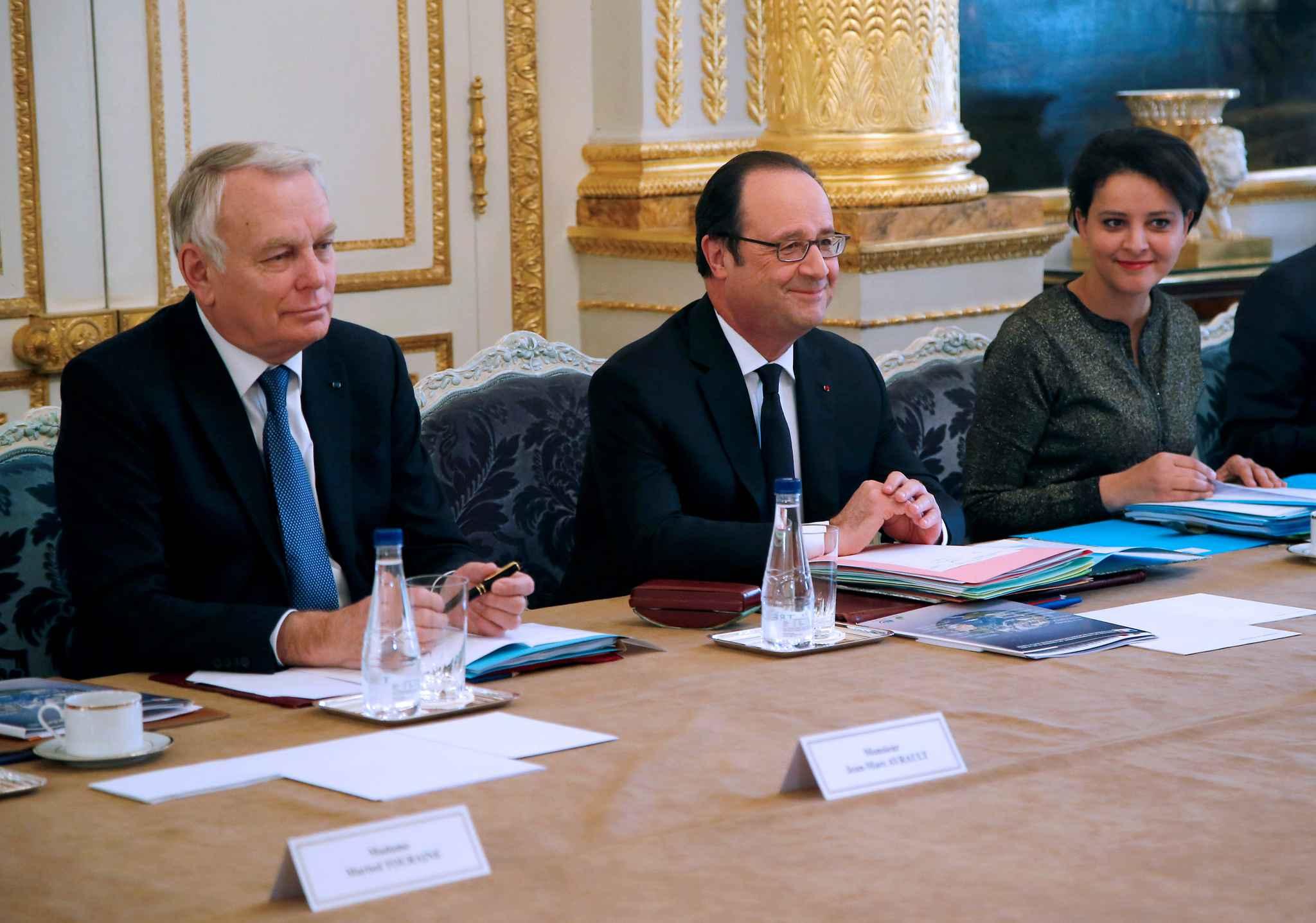 Dernier conseil des ministres pour François Hollande