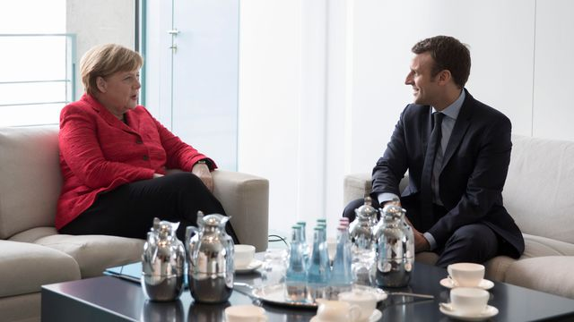 Le président Macron reçu par Merkel lundi à Berlin