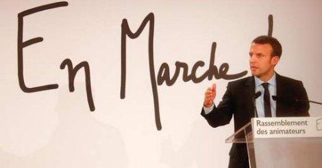 Le FN sera redoutable en 2022 en cas de mauvaise présidence, dit Macron