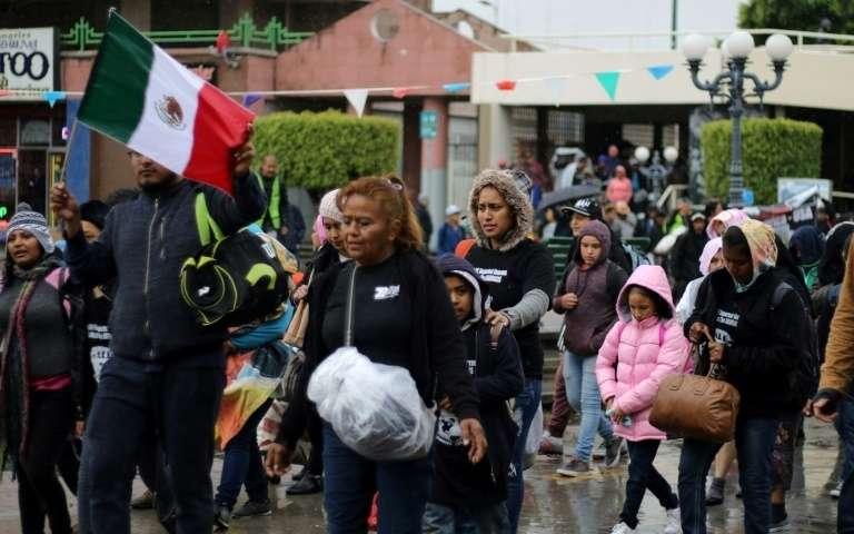 """Migrants vers le Mexique et les Etats-Unis: une """"crise humanitaire"""", selon MSF"""