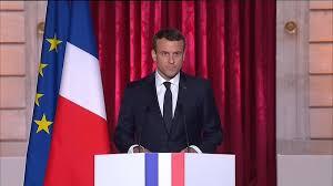 Le Président Macron promet d'oeuvrer à réconcilier la France et réformer l'UE