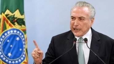 """Brésil: """"Je ne démissionnerai pas"""", affirme le président Temer"""