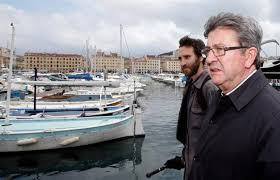 """Un """"parachutage"""" gagnant pour Mélenchon à Marseille, selon un sondage"""