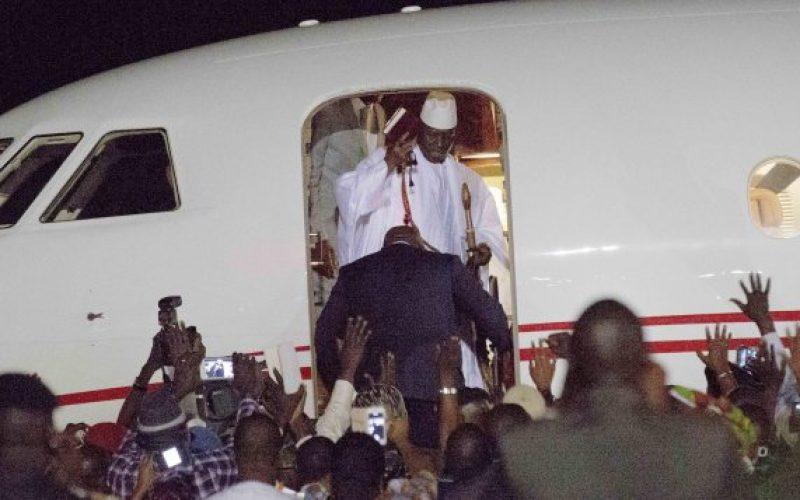 Gel des biens de Yahya Jammeh, soupçonné d'avoir détourné 50 millions $