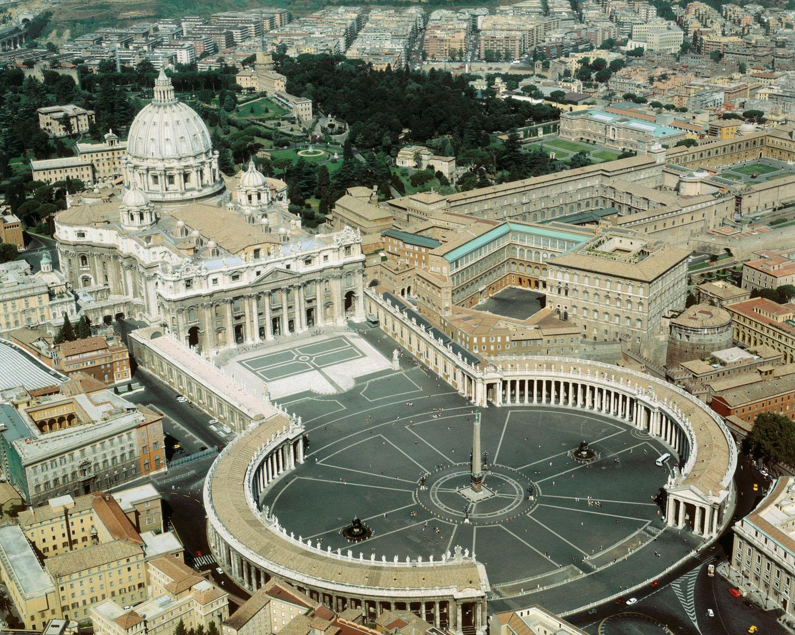 Trump chez le pape François à Rome