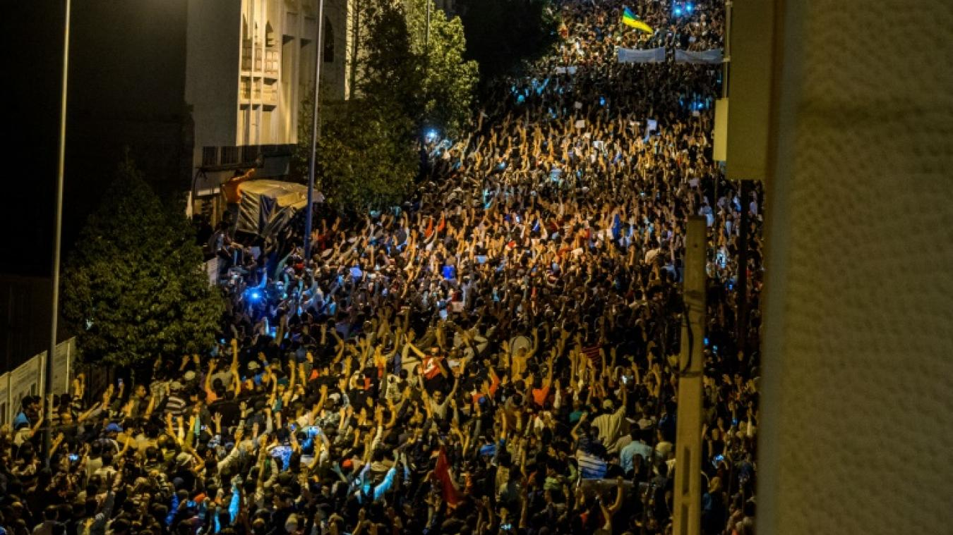 Maroc: nouvelle manifestation nocturne à Al-Hoceima