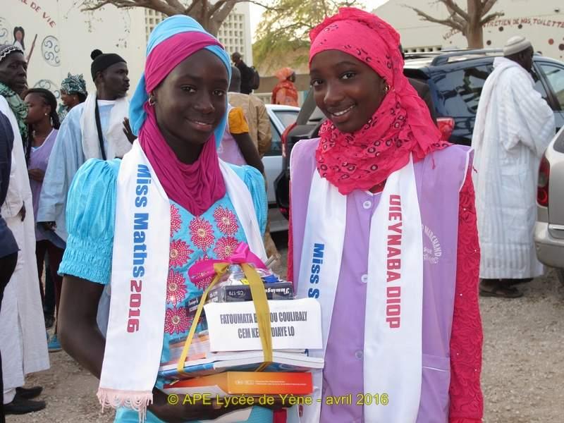 Des lauréates régionales (Matam)
